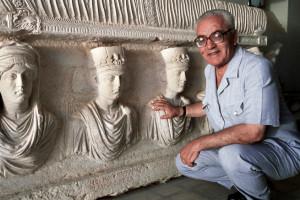 Khaled al-Assad, sito archeologico di Palmira