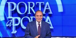Bruno Vesta, conduttore di Porta a Porta, Rai 1