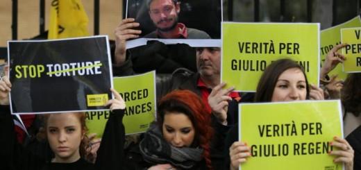 Manifestazione Giulio Regeni 737 x 415