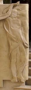 """Un particolare della scultura """"Via Crucis"""""""