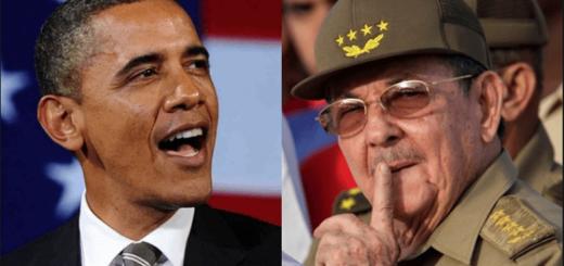 Barak Obama e Raul Castro