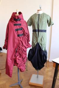 Couture rosso e verde