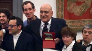 D'Ambrosi premio La lupa capitolina