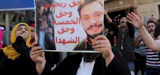 Manifestazione pro Regeni in Egitto