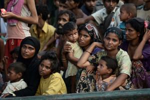 Rohingya donne e bambini