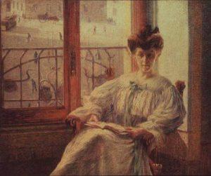 La Signora Massimino, Umberto Boccioni, 1908