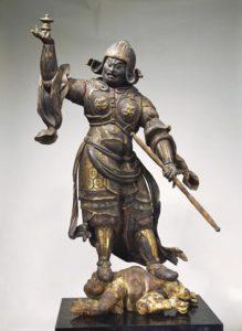 Una delle ventuno opere summe (per un totale di 35 pezzi), che spaziano dal periodo Asuka (VII-VIII secolo) a quello di Kamakura (1185-1333), racconteranno per la prima volta in Italia lo splendore della scultura buddista giapponese in una grande mostra allestita dal 29 luglio al 4 settembre alle Scuderie del Quirinale. ANSA/UFFICIO STAMPA ANSA PROVIDES ACCESS TO THIS HANDOUT PHOTO TO BE USED SOLELY TO ILLUSTRATE NEWS REPORTING OR COMMENTARY ON THE FACTS OR EVENTS DEPICTED IN THIS IMAGE; NO ARCHIVING; NO LICENSING