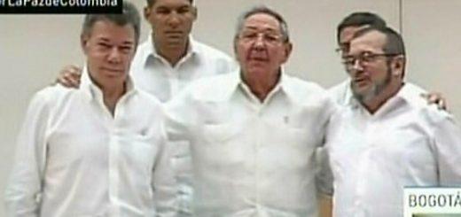 Siglato patto storico di pace tra la Colombia e le FARC