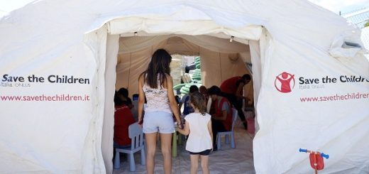 terremoto_centro_italia_amatrice. Protocollo di condivsione emergenza per supportare i bambinhi