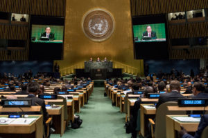 General Assembly Seventy-first session Opening of High-level plenary meeting on addressing large movements of refugees and migrants Remarks by the Secretary-General