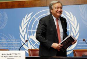 La sfida della pace per Antonio Guterres