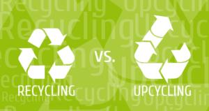 upcycling e recycling