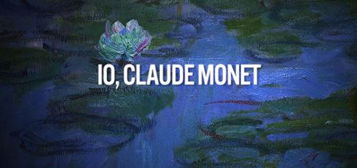 Io Claude Monet copertina