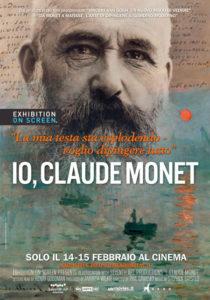 Io, Claude Monet, locandina