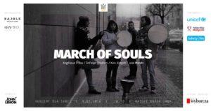 March of souls concerto 4 febbraio