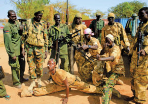 Sud Sudan militari
