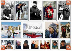 collage di foto a in Austria 10 febbraio