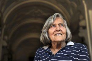 Roma, 7 ottobre 2009 - Margherita Hack, astrofisica
