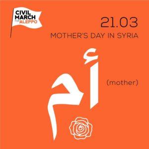 Festa della mamma in Siria 21 marzo