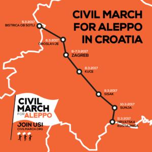 Mappa Croazia 5 marzo
