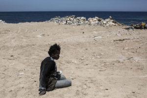 Profuga arrestata dalla guardia costiera libica