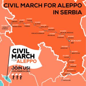 Mappa Serbia - 1 aprile