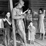 poveri bianchi statunitensi