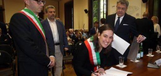 Sindaci che firmano il protocollo immigranti