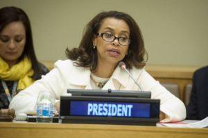 Elayne Whyte Gomez presidente Conferenza Onu disarmo nucleare