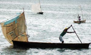 Ocean Conference uomo barca