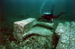 Osiride - gli scavi sommersi