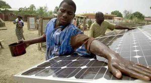 Africa pannelli solari copertina