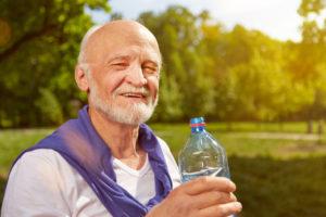 Anziani idratazione Parkinson