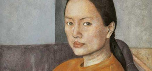 Donna in arancio 2003 Chao Ge