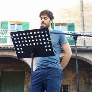 Lino Guanciale Festival Il giardino della poesia
