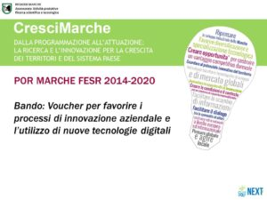 Regione Marche - Fondi Europei
