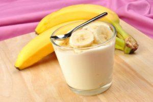 latte e banane