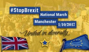 Stop Brexit Manchester 1-10-17