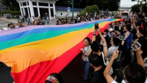 Taiwan bandiera arcobaleno