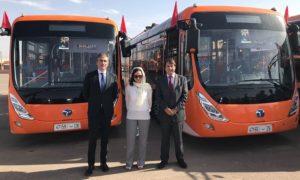 Bus elettrici Marocco responsabili progetto